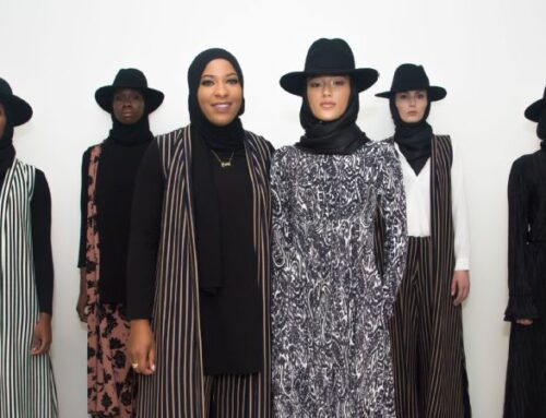 Ibtihaj Muhammad presents fashion collection during New York Fashion Week